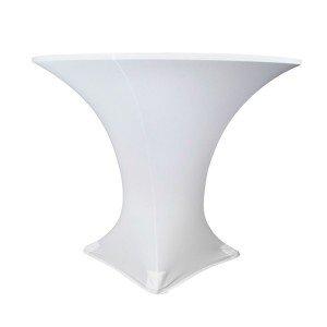 ROUND SPANDEX Ø80cm - WHITE