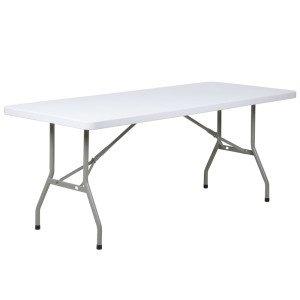 RECTANGLE TABLE 180X75cm