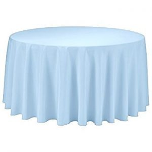 Round Tablecloth-Dusty Blue