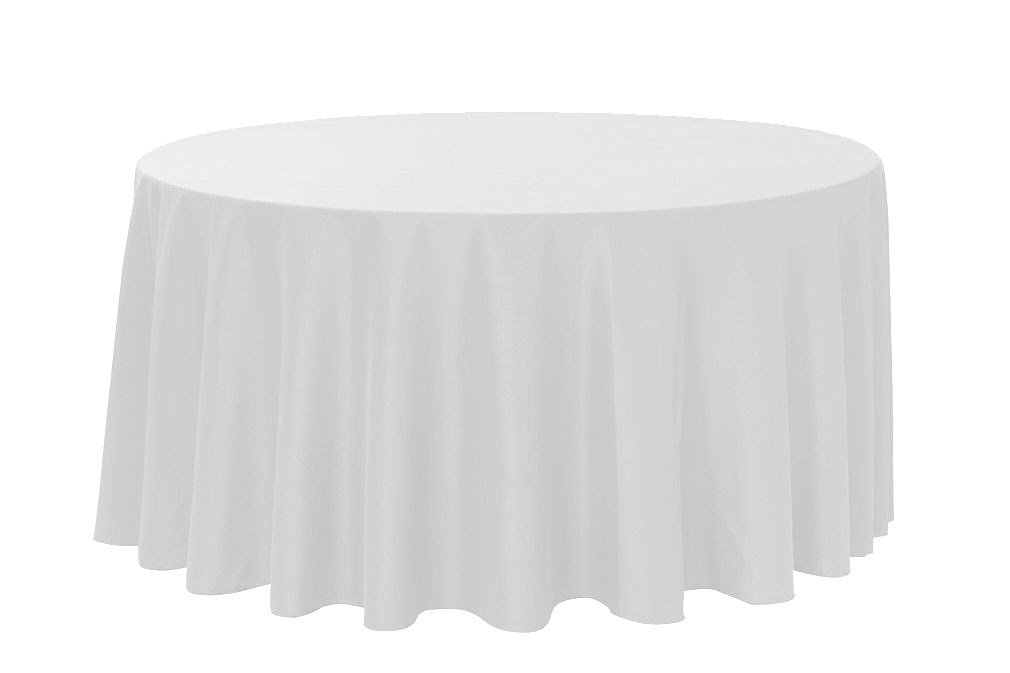Round Tablecloth-Silver